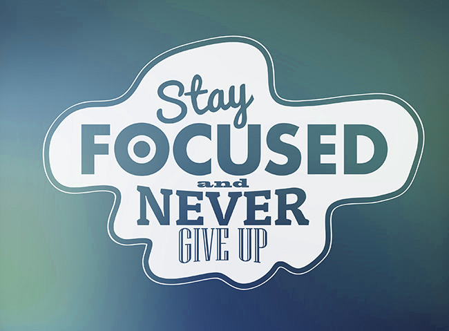 Stay Focused on Your Goals with these 5 tips